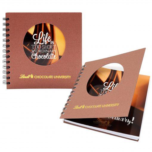 "7"" x 7"" Window Spiral Journal Notebook"