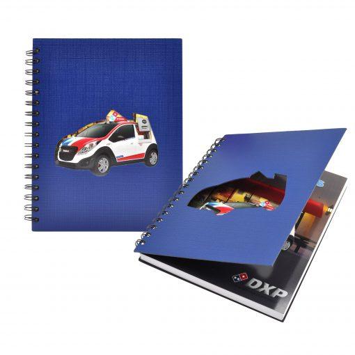 "7"" x 9"" Window Spiral Journal Notebook"