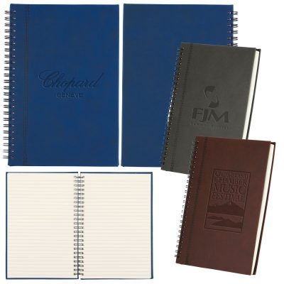 Bergamo Soft-touch Spiral Notebook