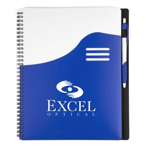 Big Wave Large Spiral Notebook Set