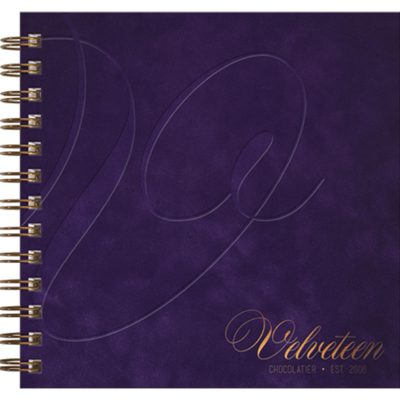 "Deluxe Cover Series 3 Square NoteBook (7""x7"")"
