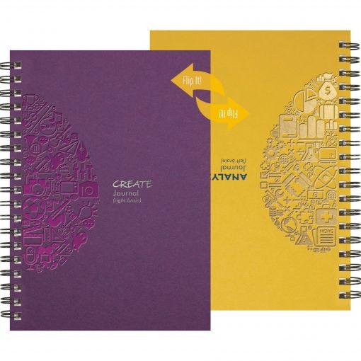 """FlipBooks™ CreativeThinker Journal (7""""x10"""")"""