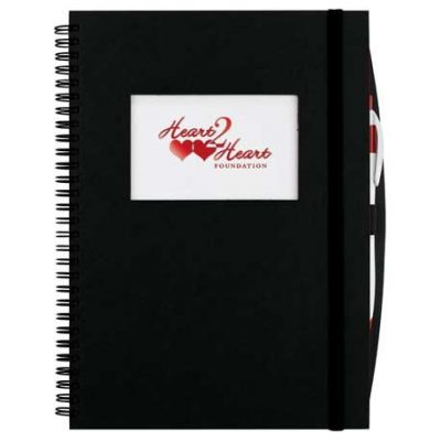 Frame Rectangle Large Hardcover Spiral JournalBook