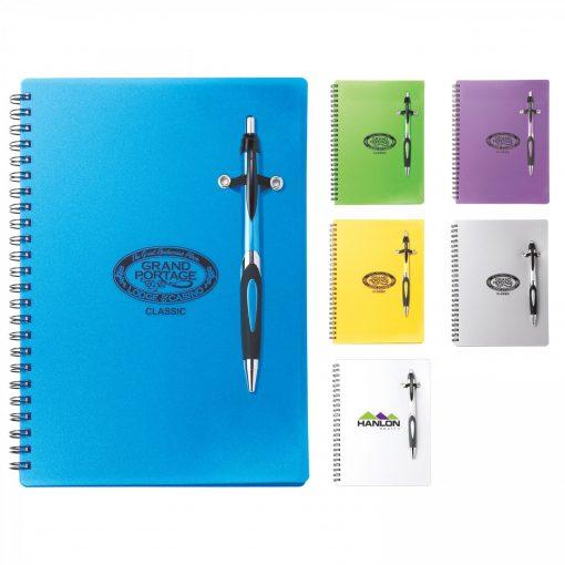 Helix Polypro Notebook Combo