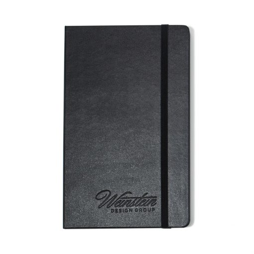 Moleskine® Hard Cover Plain Large Notebook - Black