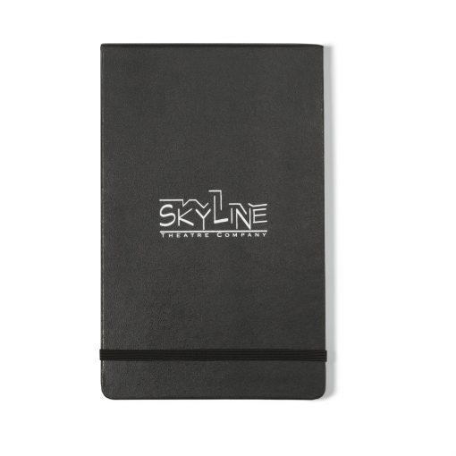 Moleskine® Hard Cover Ruled Large Reporter Notebook - Black