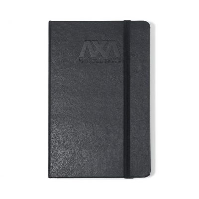 Moleskine® Hard Cover Squared Pocket Notebook - Black
