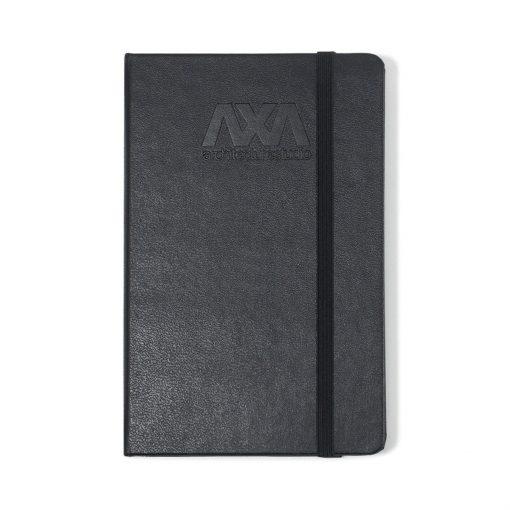 Moleskine® Hard Cover Squared Pocket Notebook - Black