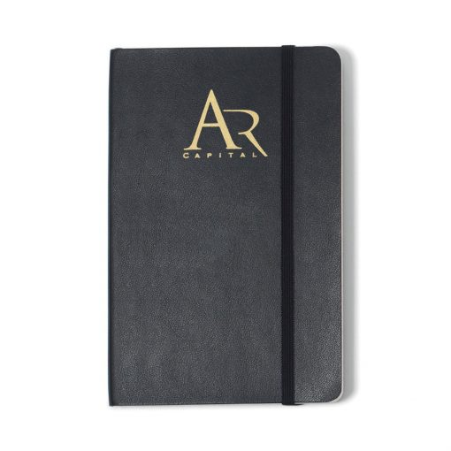 Moleskine® Soft Cover Ruled Pocket Notebook - Black