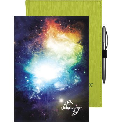 "Pedova BrightWave™ Journal w/Full-Color Tip-In (7""x9.5"")"