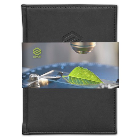 Pedova Graphic Wrap Bound JournalBook™