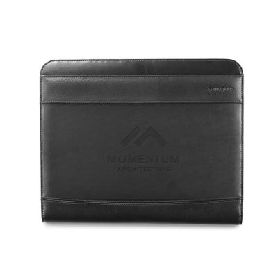 Samsonite Peyton Leather Writing Pad - Black