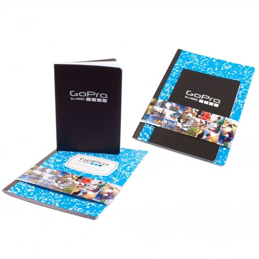 Set of 2 Full Color Commuter Journals with Belly Band