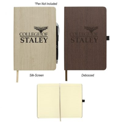 Woodgrain Look Notebook