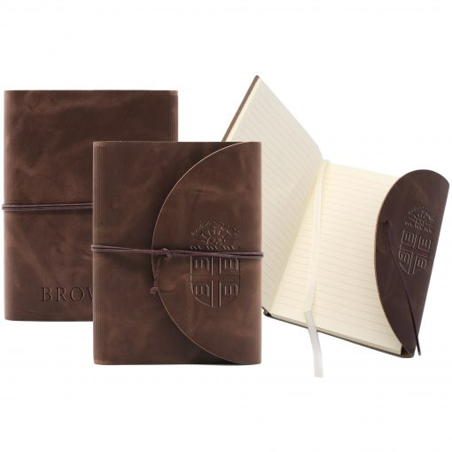 """Leather Perfect Flap Book-Bound Journal - 3""""x4"""""""
