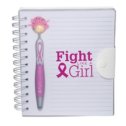 Awareness MopToppers® Stylus Pen & Notebook Set
