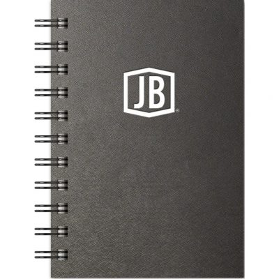 "Luxury Cover Series 4 Large JotterPad w/Black Paperboard Back Cover (4""x6"")"