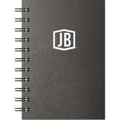 """Luxury Cover Series 4 Large JotterPad w/Black Paperboard Back Cover (4""""x6"""")"""