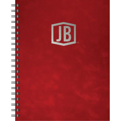 """Luxury Cover Series 4 Large NoteBook w/Black Paperboard Back Cover (8.5""""x11"""")"""