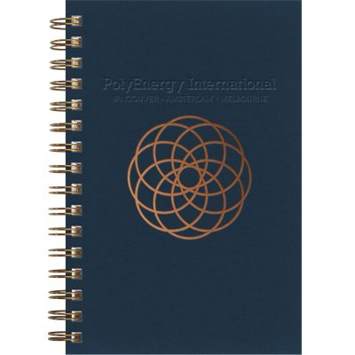 """Luxury Cover Series 4 SeminarPad w/Black Paperboard Back Cover (5.5""""x8.5"""")"""
