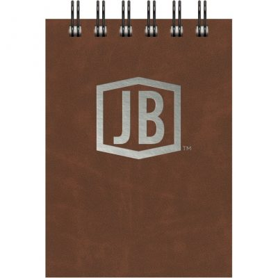 "Luxury Cover Series 4 Small JotterPad w/Black Paperboard Back Cover (3.5""x5"")"
