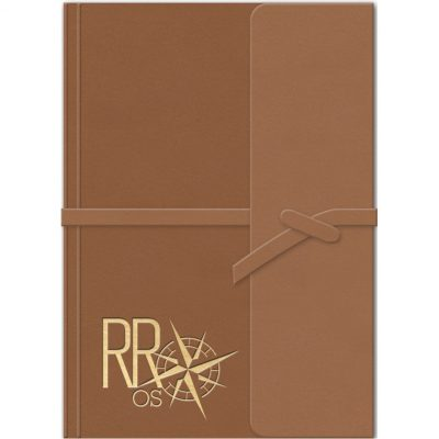"RusticWraps™ Classic Suede JotterPad (4""x6"")"