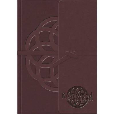 "RusticWraps™ Classic Suede NotePad (5""x7"")"