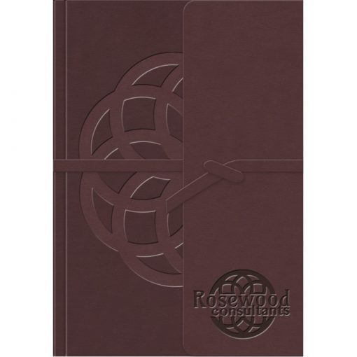 """RusticWraps™ Classic Suede NotePad (5""""x7"""")"""
