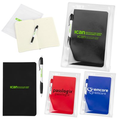 Notebook Set in Zip Pouch