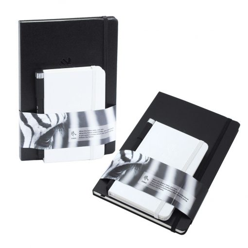 Set of 2 Essential Journals with Belly Band