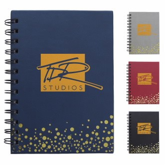 Good Value® Metallic Dots Notebook