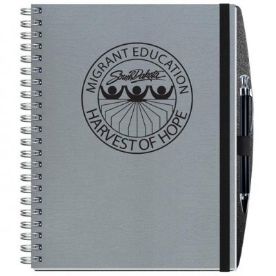 "Embossed Alligator Textured Journal w/100 Sheets and Pen (8½"" x 11"")"