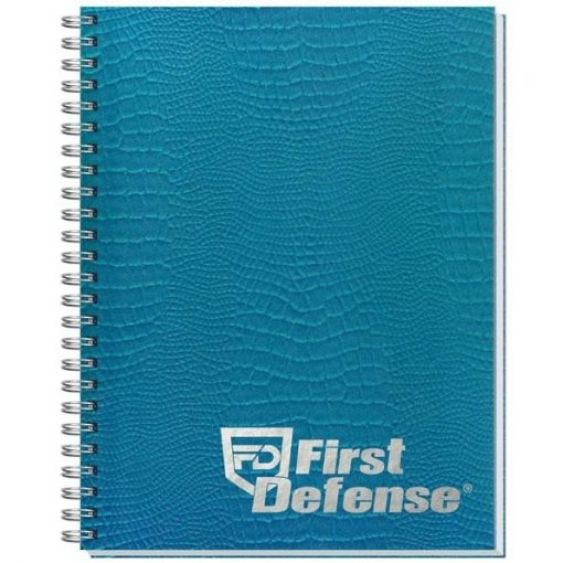 """Embossed Alligator Textured Journal w/50 Sheets (6½"""" x 8½"""")"""