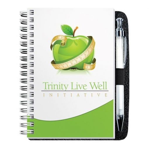 """Gloss Cover Journals w/100 Sheets & Pen (4"""" x 6"""")"""