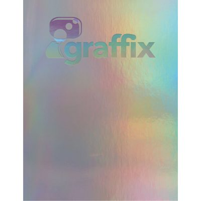 """NEW! Holographic Rainbow - Large NoteBook (8.5""""x11"""")"""