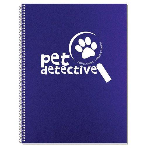 "Econo Poly Cover Stenographer Notebook (8 3/16"" x 10 7/8"")"