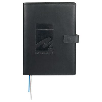 """7"""" x 10"""" Uptown Refillable Leather JournalBook®"""