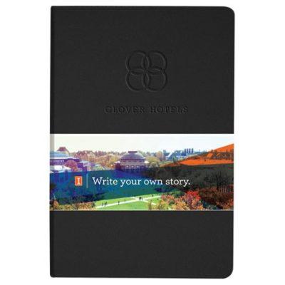 Ambassador Graphic Wrap Bound JournalBook®