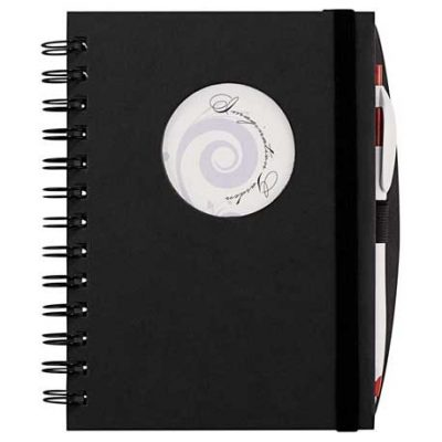 Frame Circle Hardcover Spiral JournalBook®