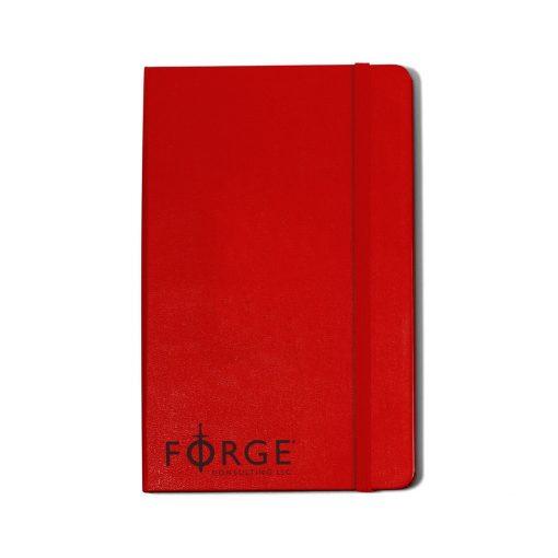 Moleskine® Hard Cover Ruled Large Notebook - Scarlet Red