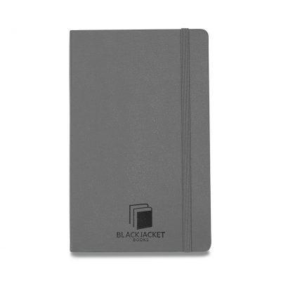 Moleskine® Hard Cover Ruled Large Notebook - Slate Grey