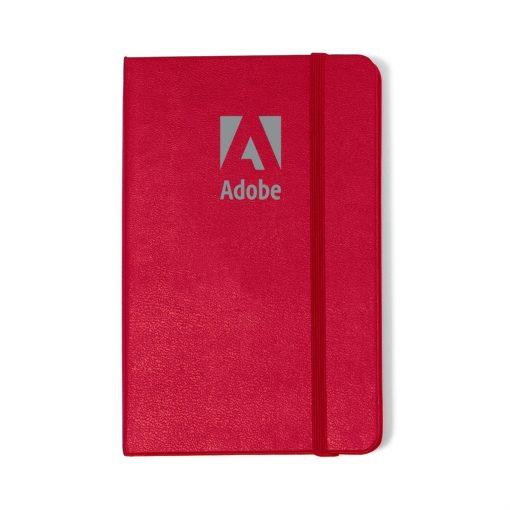 Moleskine® Hard Cover Ruled Pocket Notebook - Scarlet Red