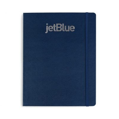 Moleskine® Hard Cover Ruled X-Large Notebook - Navy Blue