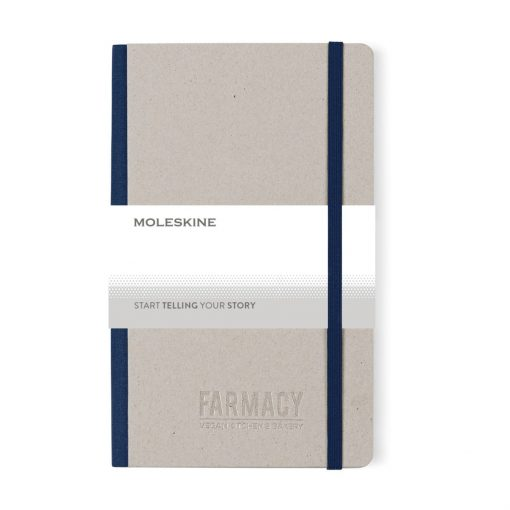 Moleskine® Time Collection Ruled Notebook - Ocean Blue