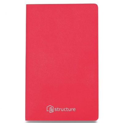Moleskine® Volant Ruled Large Journal - Geranium Red