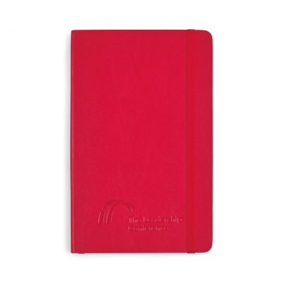 Moleskine® Soft Cover Ruled Large Notebook - Scarlet Red