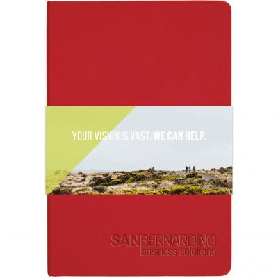 "Ambassador™ Journal w/Full Color GraphicWrap (5.5""x8.25)"