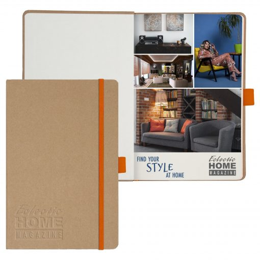 """Eco ColorPop™ Journal w/Full Color Tip-In Page (5.5""""x8.5"""")"""
