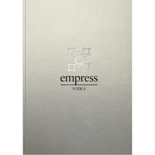 "GlossMetallic NoteBook (7""x10"")"