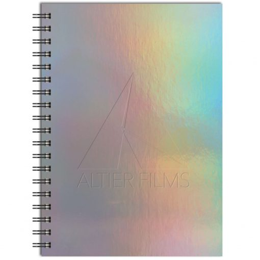 "Holographic Rainbow™ Journal Medium NoteBook (7""x10"")"
